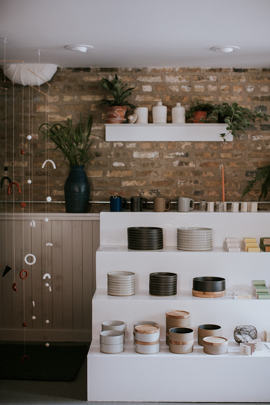 Aside from floral arrangements and a unique selection of home goods and gifts, Field & Florist sells local products.