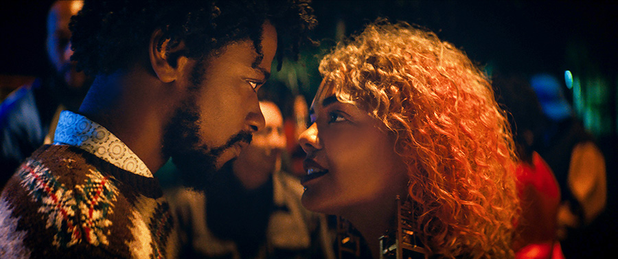 Lakeith Stanfield and Tessa Thompson in <i>Sorry to Bother You</i>