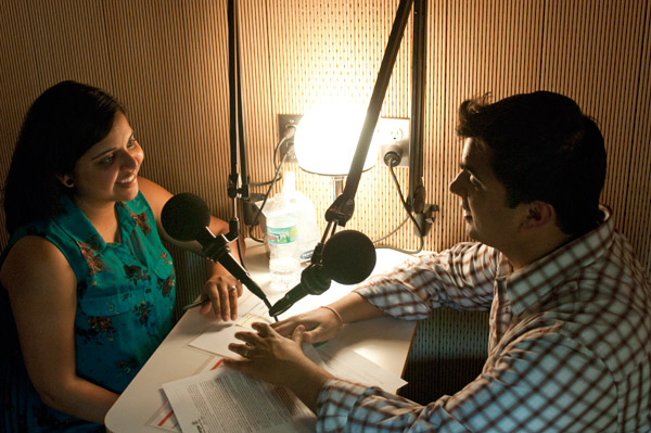 Ritesh Parekh interviewed his wife, Tina Shah, about their first baby, who's due next month.