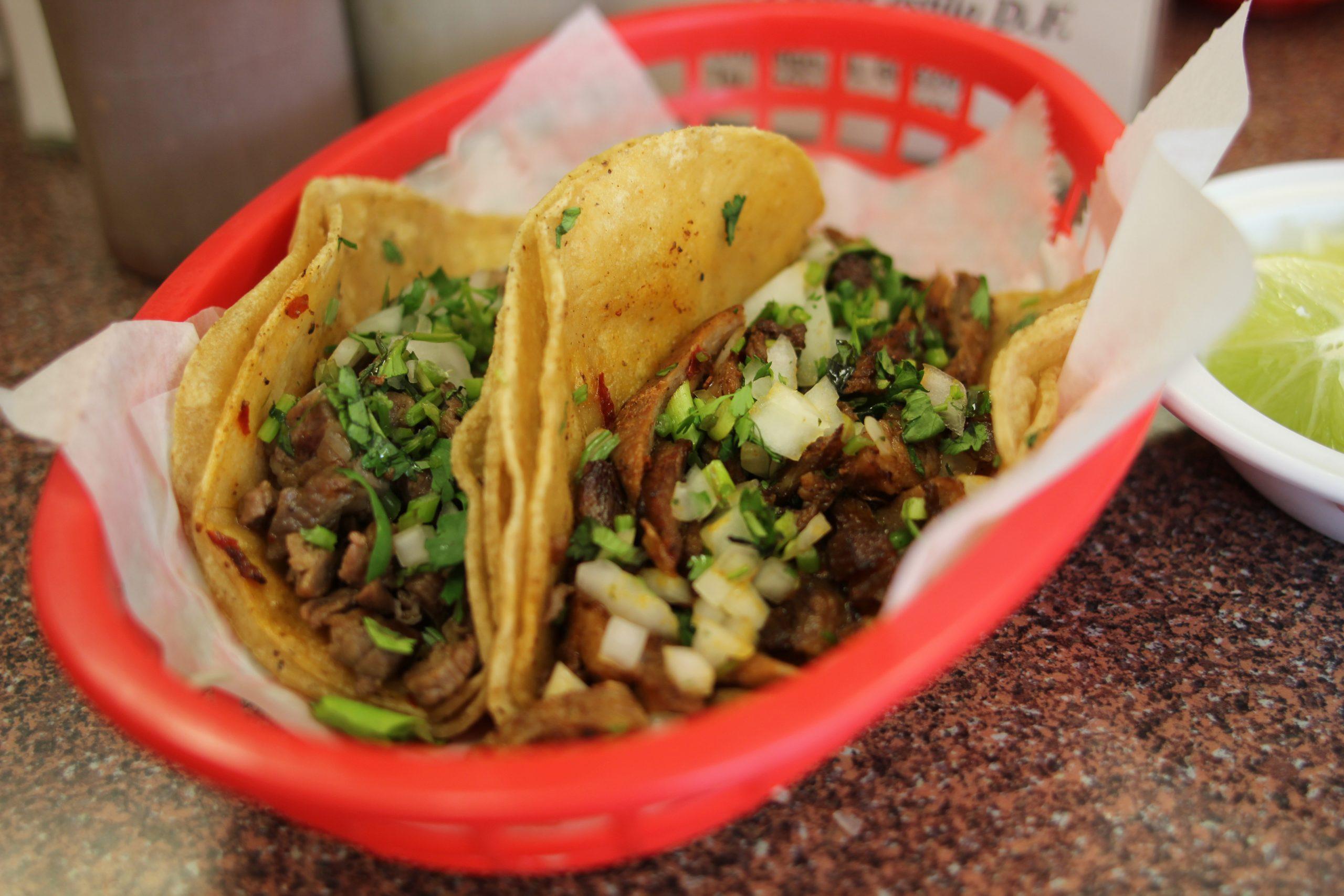 9. Taqueria El Pastor, 4418 W. 63rd. Tacos al pastor on a spit
