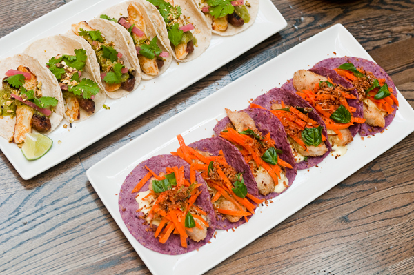 Boutique tacos with a point at Takito