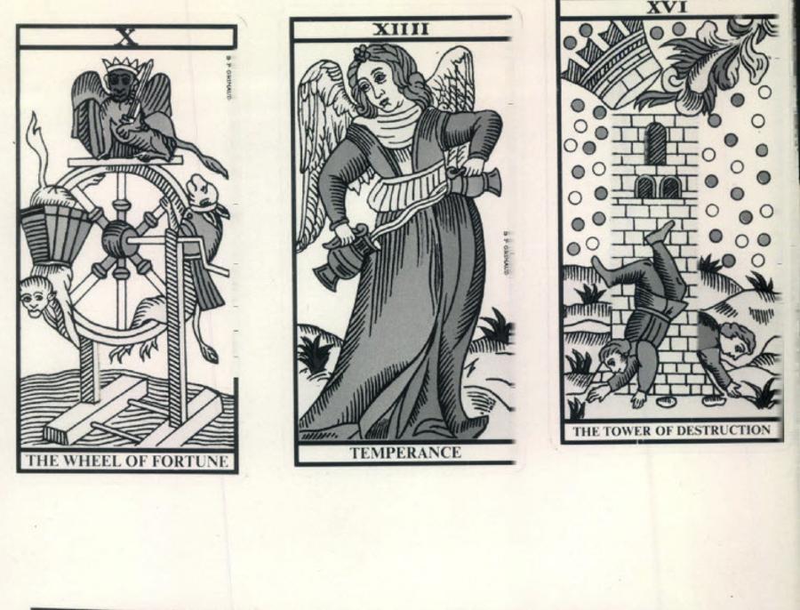 "Traditional tarot designs are reinterpreted at the ""Tarot Art Show."""
