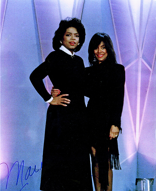 """Marie Simmons appeared on the """"Oprah Winfrey Show"""" in the 80s."""