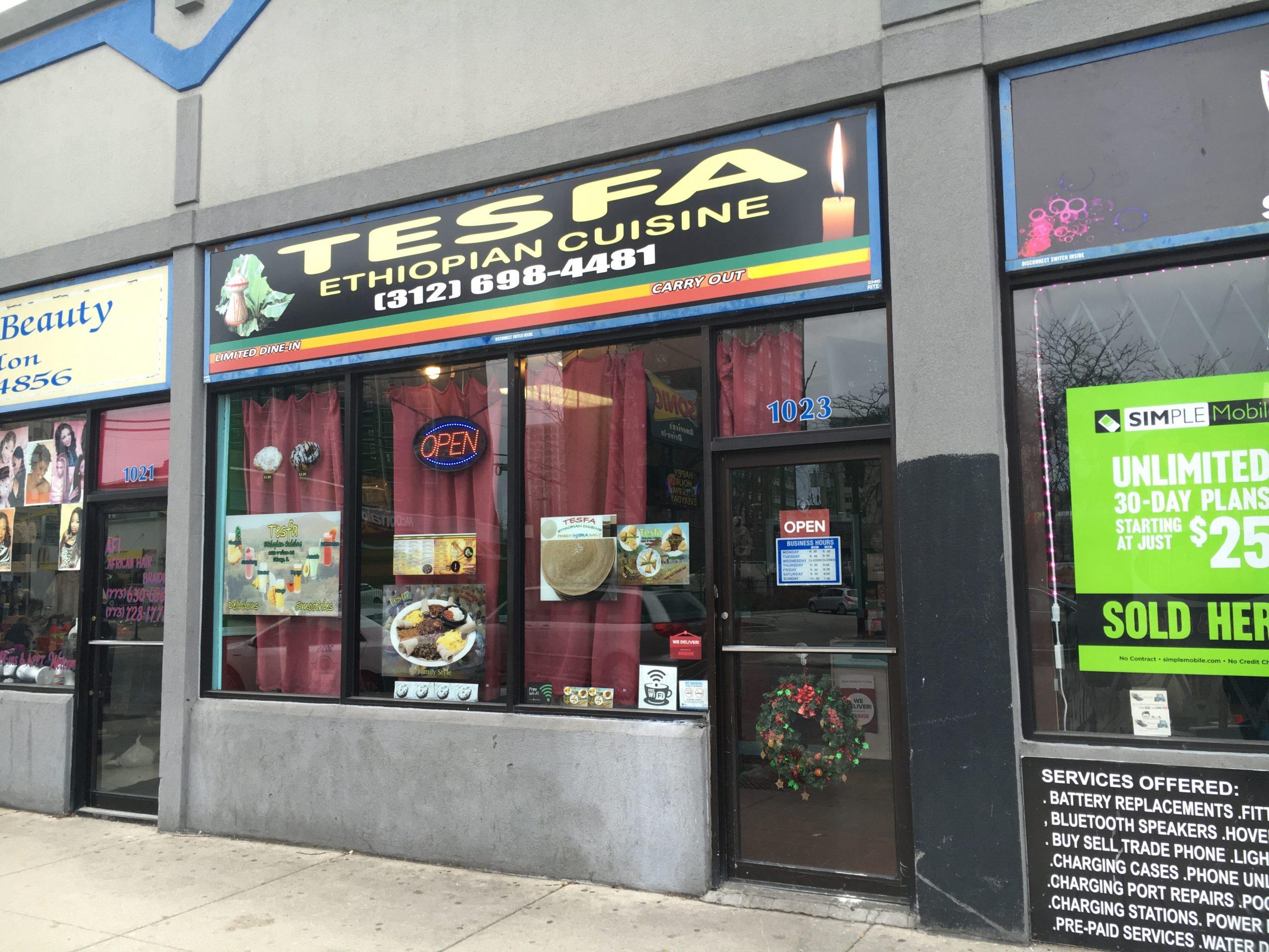 Tesfa Ethiopian Cuisine in Uptown