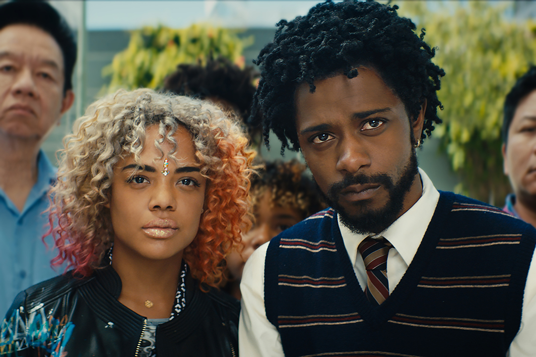 Tessa Thompson and Lakeith Stanfield, the stars of <i> Sorry to Bother You</i>