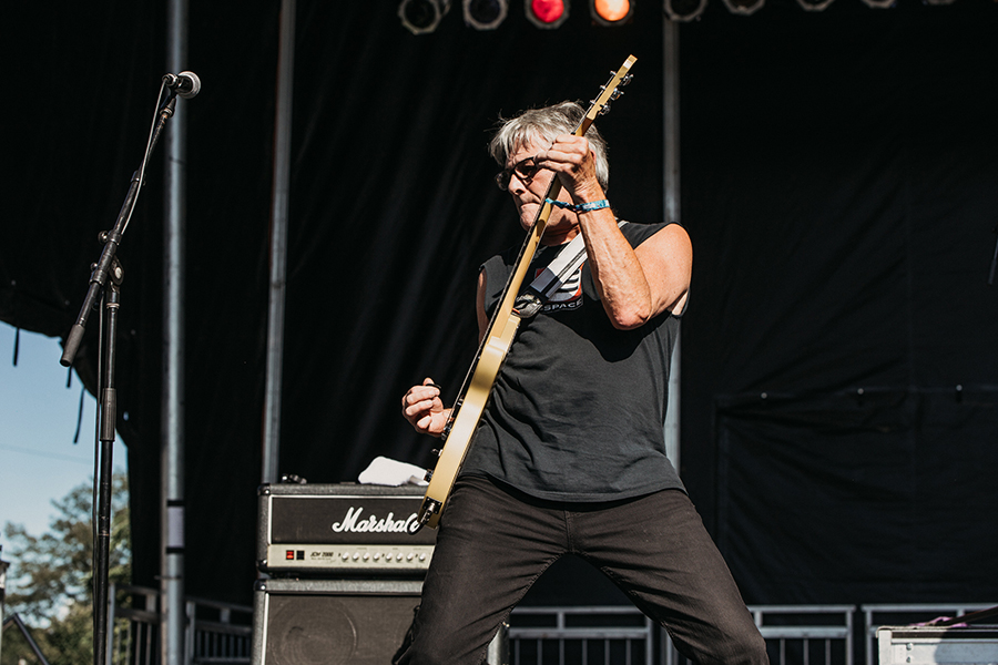 Guitarist Greg Ingraham is one of two original members in the current Avengers lineup, alongside Houston.