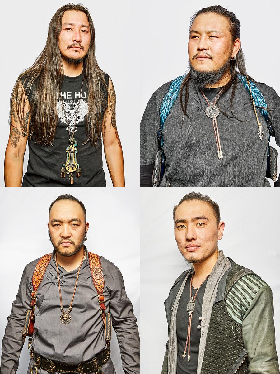 Jaya, Gala, Enkush and Temka of The Hu