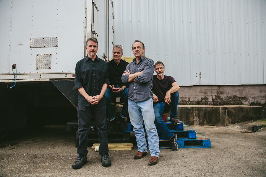 The Jesus Lizard today: David Wm.Sims, Duane Denison, David Yow, and Mac McNeilly