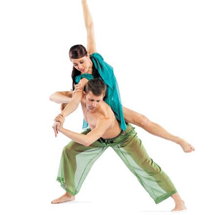 John Cartwright finds humor in dance partnerships