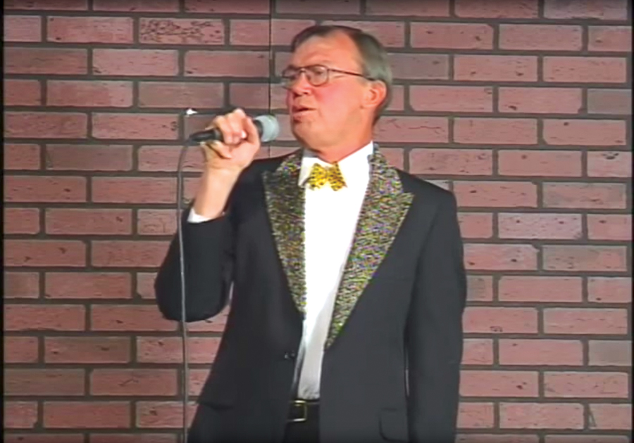 Celebrity impressionist James Quall made frequent appearances on <i>Awesome Show</i>.