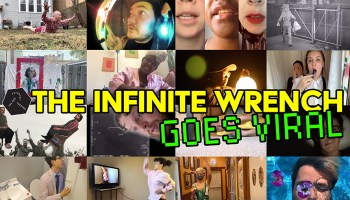 Scenes from <i>The Infinite Wrench Goes Viral</i>