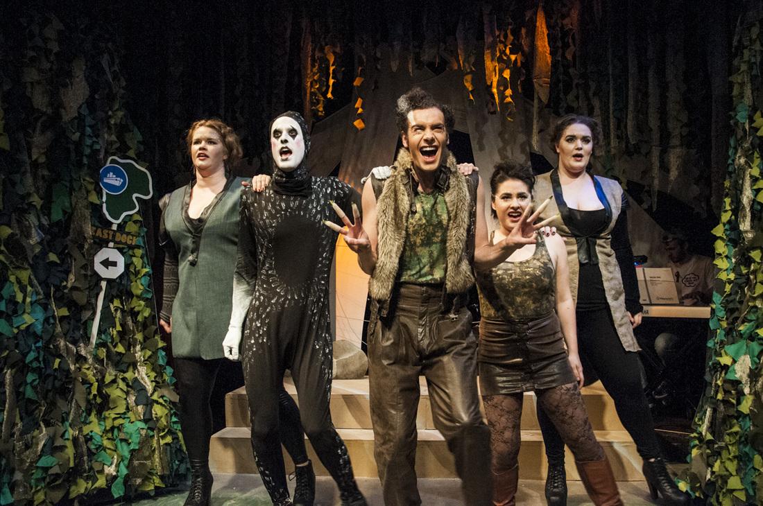 Circle Theatre's <i>Triassic Parq: The Musical</i>