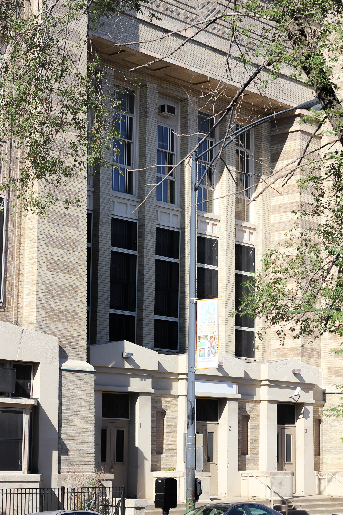 Trumbull Elementary School in Andersonville was sold to private developers who intend redevelop the building as residential units and a community arts space.