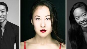 From left: Edwaard Liang, Yin Yue, Jessica Tong