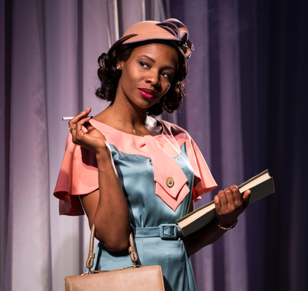 Tamberla Perry plays Vera Stark, a fictional actress whose career resembles those of many African-American women working in early Hollywood.