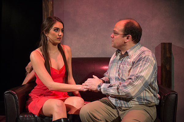 """Marilyn Bass and Steve Silver in <i>Lovely Head</i>, part of Profiles' Neil LaBute double feature """"Vices and Virtues"""""""