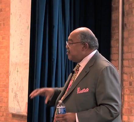 Columbia College president Warrick Carter