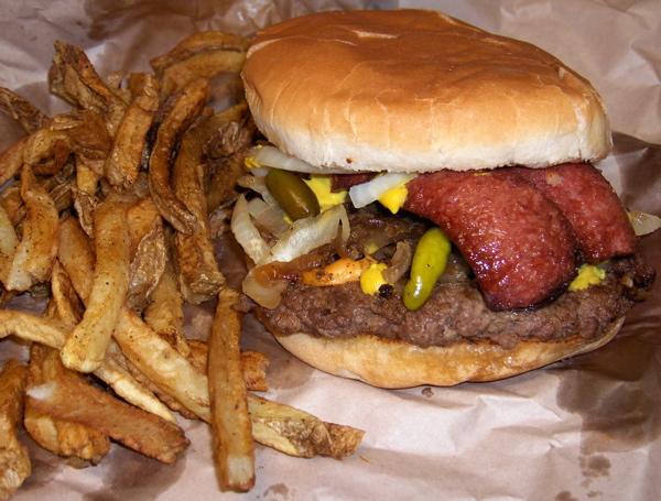 Whammy Burger at That's-a-Burger