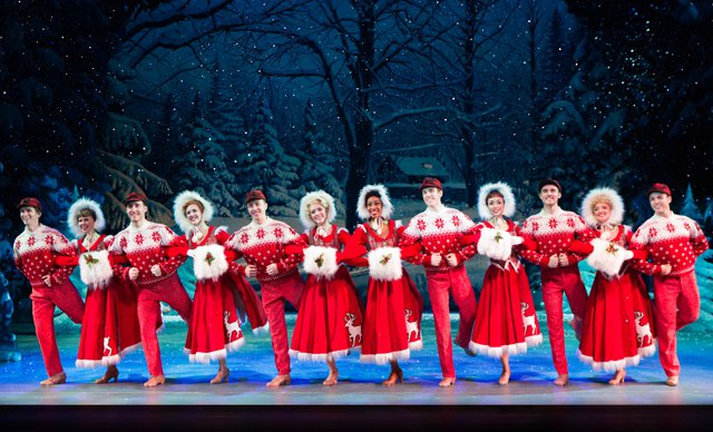 <i>Irving Berlin's White Christmas</i>, at the Cadillac Palace
