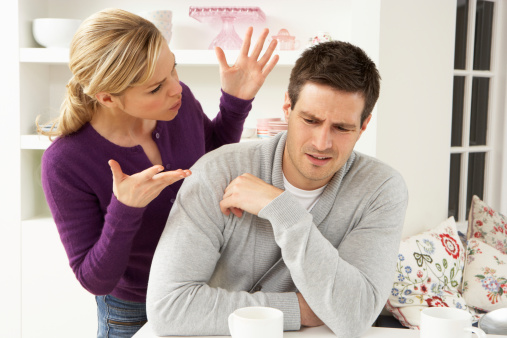 """""""Begging and pleading with your wife only demonstrates that you'll take whatever she dishes out and come crawling back for more."""""""