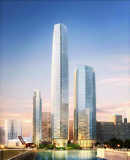 The Wolf Point Development looks nice, but it poses a set of problems that can't be seen in this drawing.