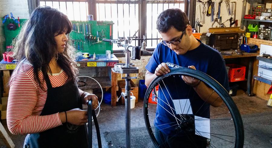 Working Bikes celebrates 17 years with a fund-raiser at Lagunitas Tap Room.
