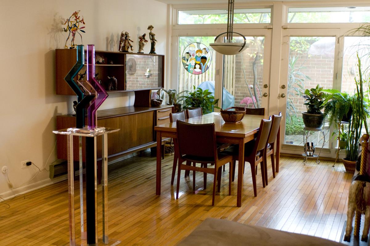 Janice Gordon's dining room
