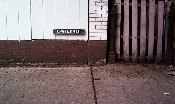 <em>Ephemeral.</em> West Town alleys, July. By Zach Gingold, 28, media analyst, Wicker Park