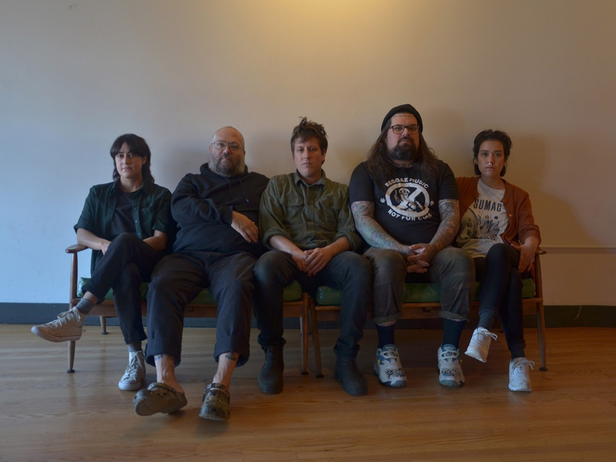 Members of the bands the Body and Big|Brave