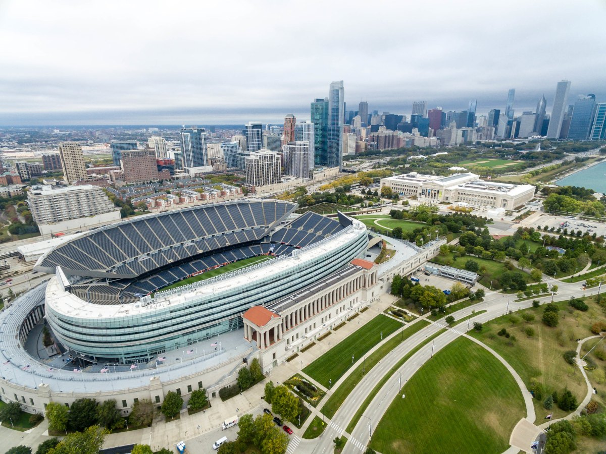 Soldier Field, current home of the Chicago Bears