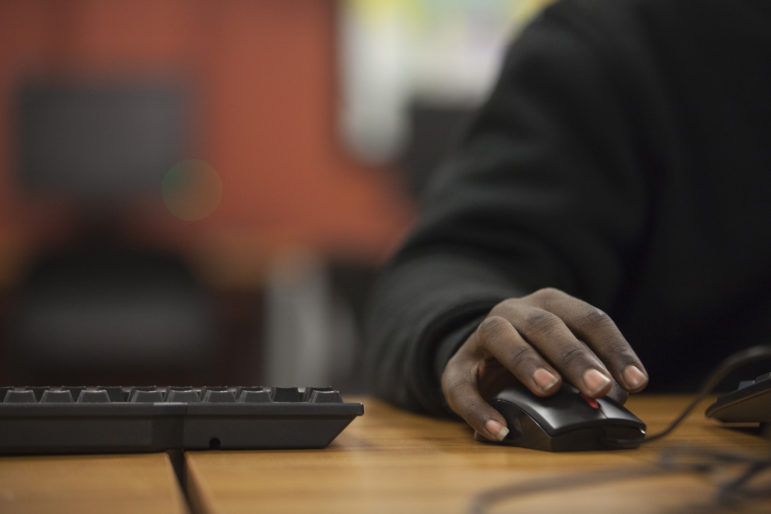 Students at Ombudsman do the vast majority of their work online during half-day sessions.