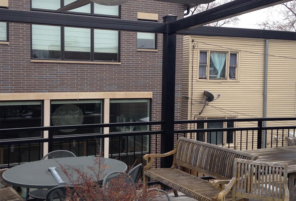 Roof Deck Bar And Kitchen Chicago Roof Deck Garden