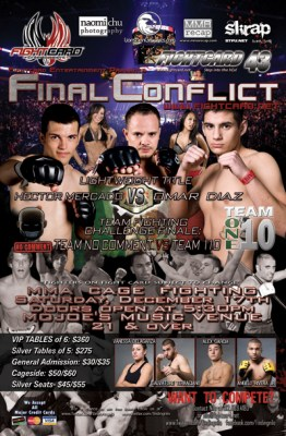 Fight Card 43: Final Conflict