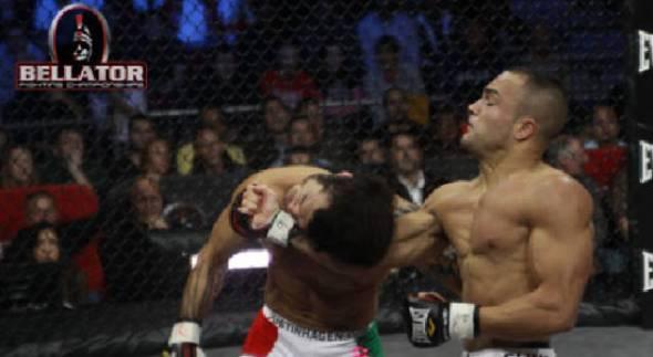 Eddie Alvarez vs. Roger Huerta at Bellator 33