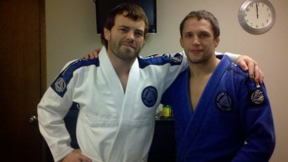 Jens Pulver and Jeff Curran