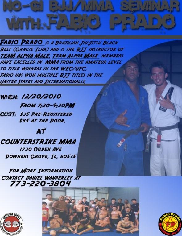 Fabio Prado Seminar at Counterstrike MMA