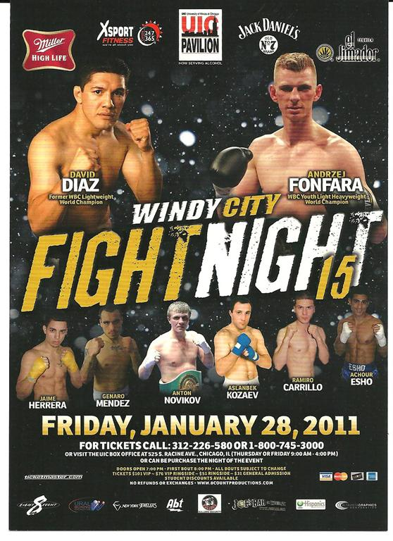 Windy City Fight Night 15