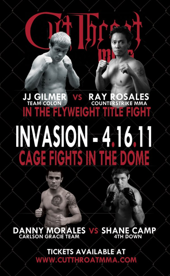 Cut Throat MMA: Invasion at the Dome