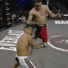 Patricky Pitbull Flying Knee at Bellator 39