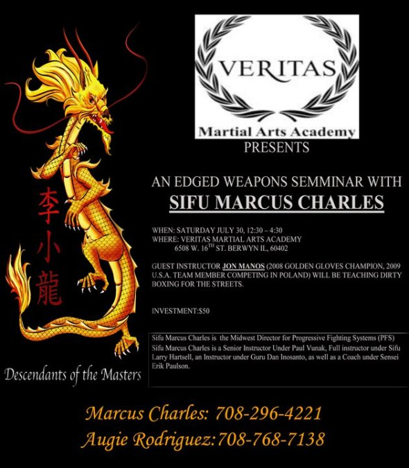 Marcus Charles, Edged Weapons Seminar