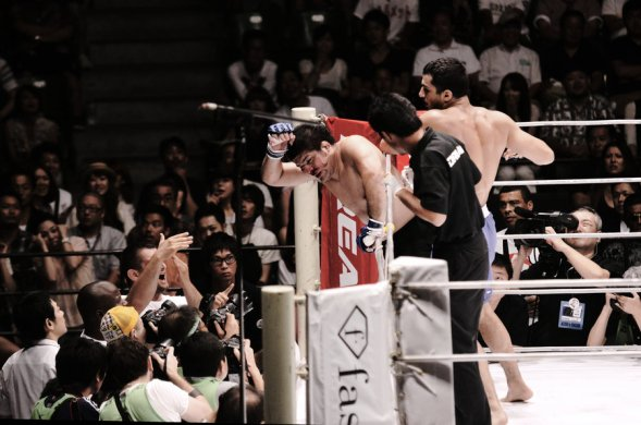 Mousasi vs. Izumi - Time Out by xacook-d3vlqze