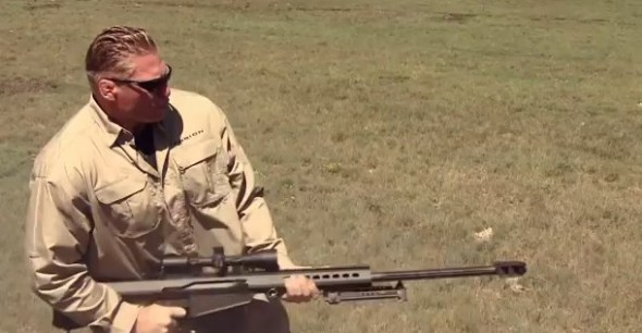 Brock Lesnar hunting prairie dogs