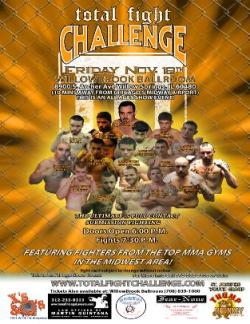 Total Fight Challenge, November 18