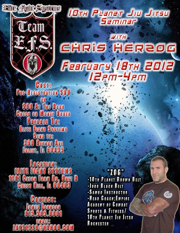 Chris Herzog at Elite Fight Systems