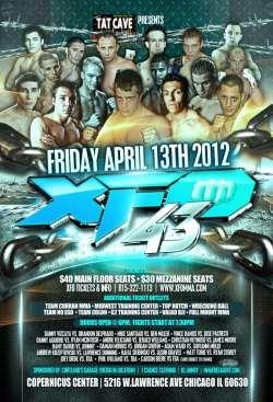 XFO 43, April 13, 2012