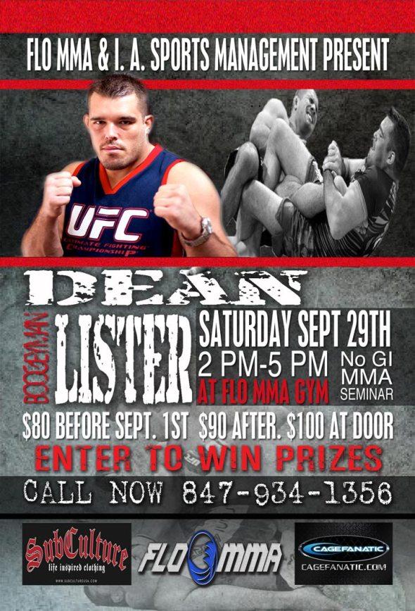 Dean Lister seminar at FLO MMA
