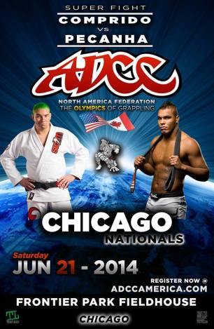 ADCC Chicago: Comprido vs. Pecanha