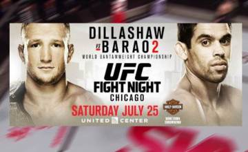 UFC in Chicago: Dillashaw vs. Barao 2