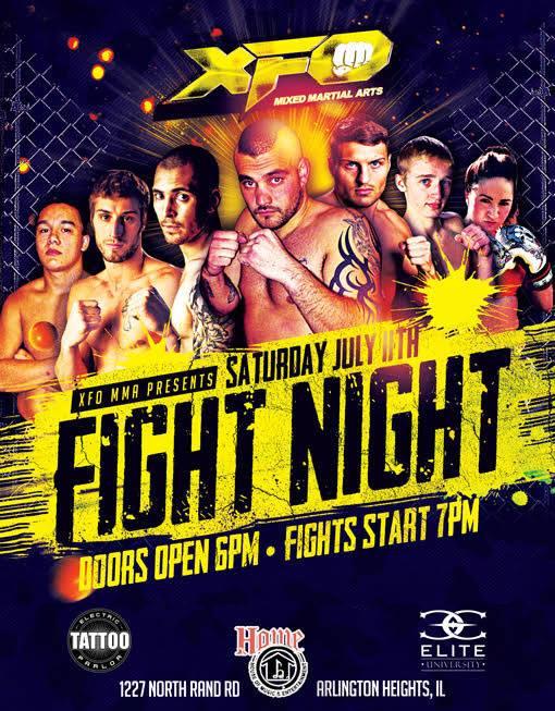 XFO Fight Night