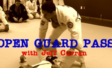 BJJ Techniques: Jeff Curran Open Guard Pass Drill